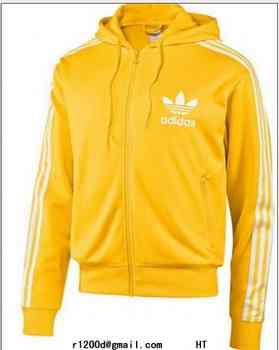 sweat homme adidas jaune
